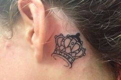26-Crown-Tattoo-Behind-The-Ear