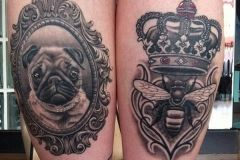 48-Crown-ThighTattoo