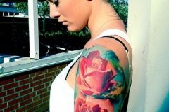 Red-Roses-Tattoo-on-Arm