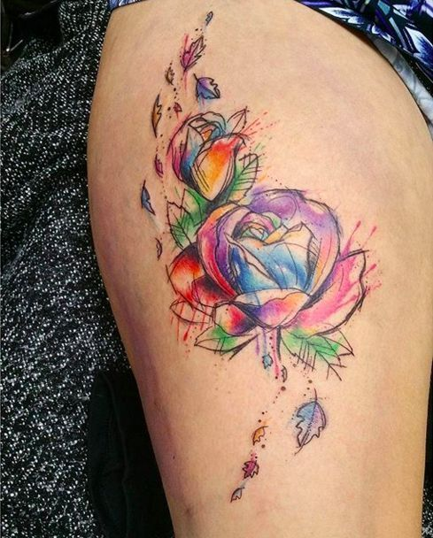 Tatuajes De Flores Ideas Significado Fotos Y Mucho Mas - Flor-hawaiana-tattoo