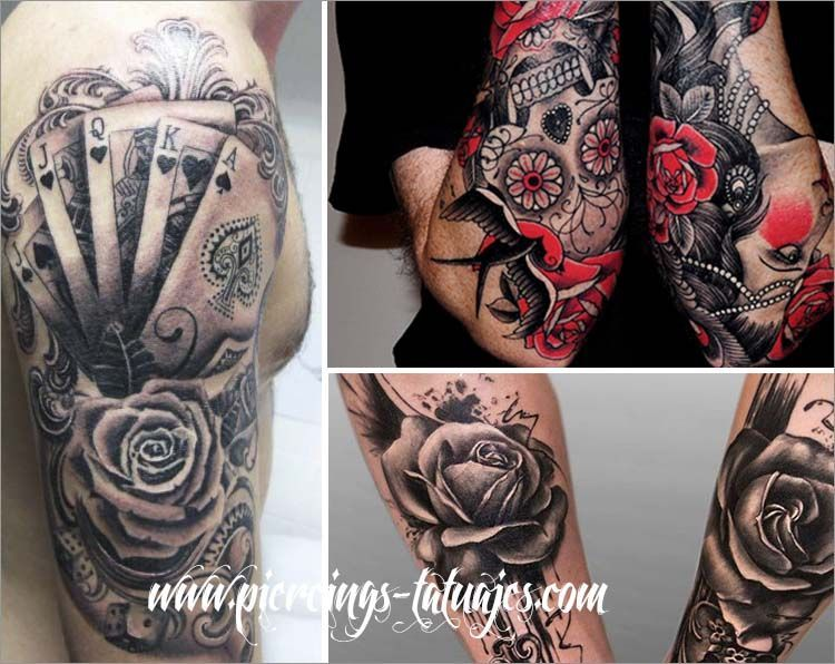 Tatuajes de rosas significados colores fotos e ideas for Tattoo de flores