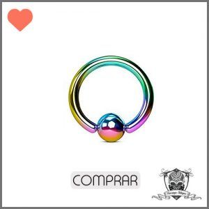 Comprar Piercing ceja aro color