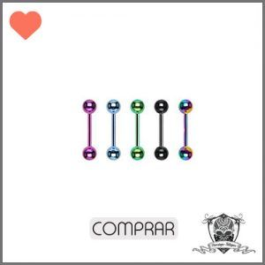 Comprar Piercing ceja pack color